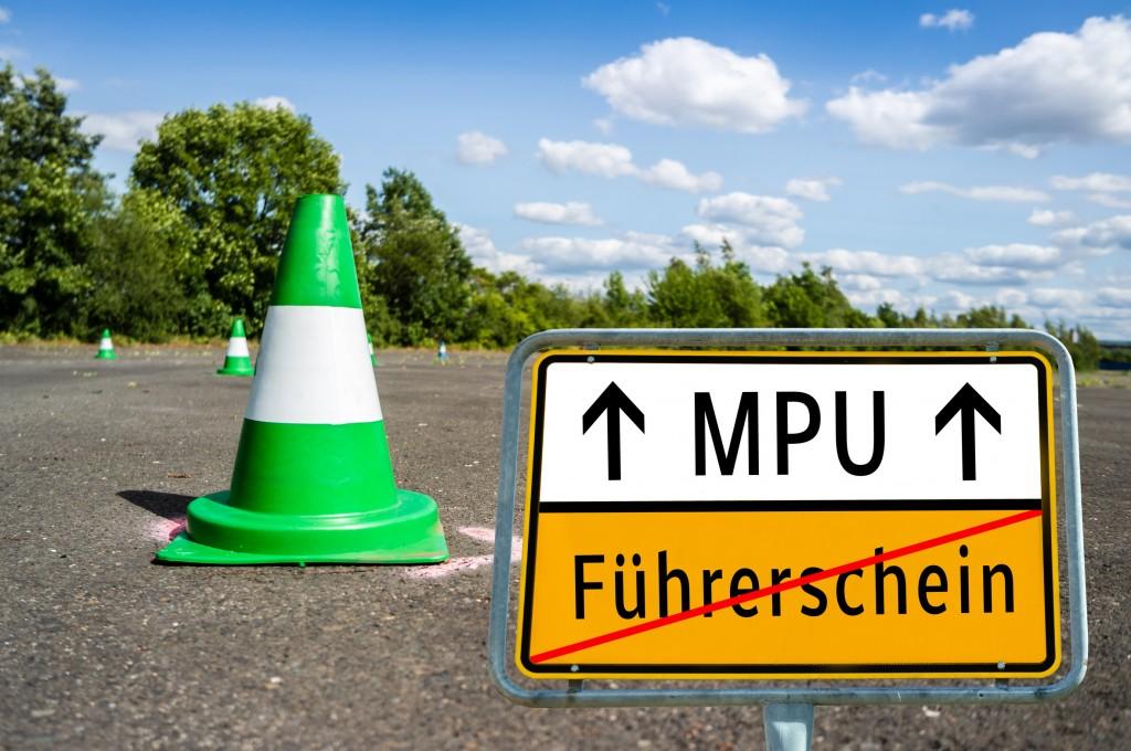 Ortstafel MPU Fhrerschein